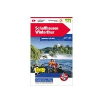 KÜMMERLY Carte vélo 1:60'000 325902401 Schaffhausen-Winterthur