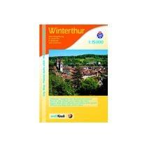 ORELL F. Plan de ville 905706703 Winterthur 1:15'000