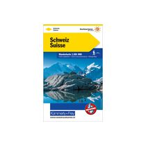 KÜMMERLY+FREY Wanderkarte 325902200 Schweiz 1:301'000