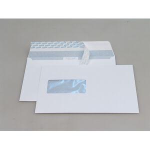 Couvert Kuvert B5 Haftklebe Fenster Links Weiss 120gm2 500 Stück