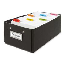 3L Kartenreiter Index Strips Streifen transparent 10 x 150mm farbig sortiert blanco