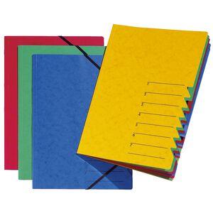 Ordnungsmappe 7-tlg. Easy grün