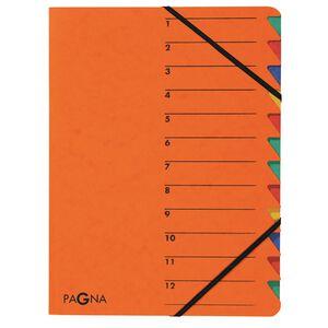 Ordnungsmappe 12-tlg. Easy grün