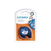 DYMO Schriftband LetraTag Polyester 12mm x 4m...