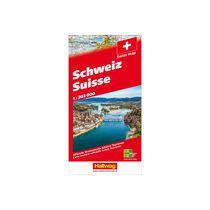 HALLWAG Strassenkarte 382831033 Schweiz 2020 1:303'000