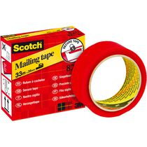 SCOTCH Tape 820 33mx35mm 820-RED3533 rouge