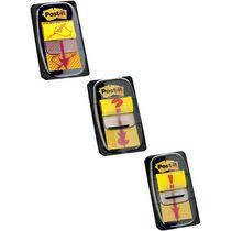 """Post-it Haftmarker Index Symbol """"Unterschrift"""", gelb"""