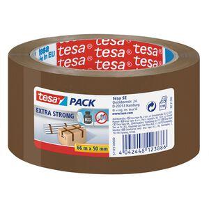 TESA Verpackungsband Tesapack Extra Strong braun 66m x 50mm