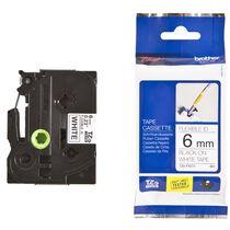 PTOUCH Flexitape lamin. schwarz weiss TZe-FX251 zu PT-550 24 mm