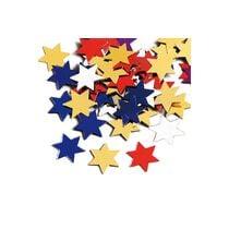 KNORR Aluflitter Stern gross 216377330 20 Stück