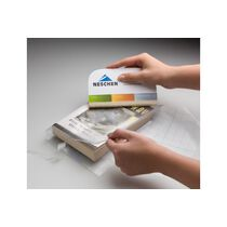 FILMOLUX Buchschutzfolie Soft 36cmx25m 6036952 glanz, 70my, wenig Klebekraft