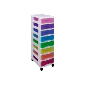 Useful Schubladenelement regenbogenfarbig