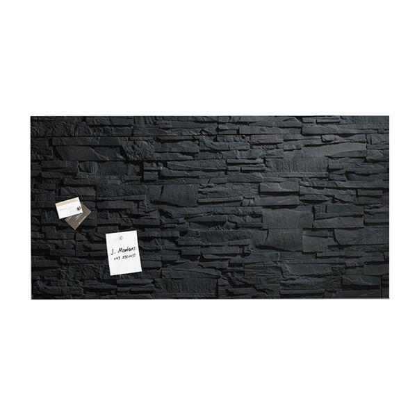 sigel tableau magn tique en verre schiste 1300x550x15mm. Black Bedroom Furniture Sets. Home Design Ideas