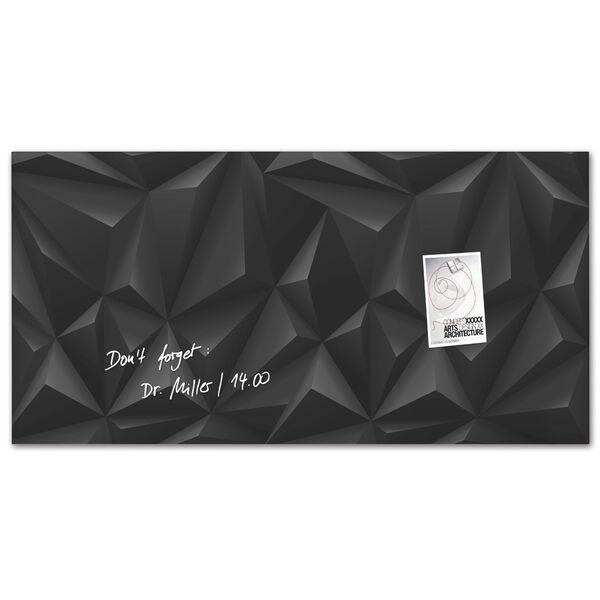 sigel tableau magn tique en verre white wave 910x460x15mm. Black Bedroom Furniture Sets. Home Design Ideas
