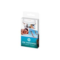 HP ZINK Photo Paper 20 Blatt W4Z13A Sticky-Backed 5x7,6cm