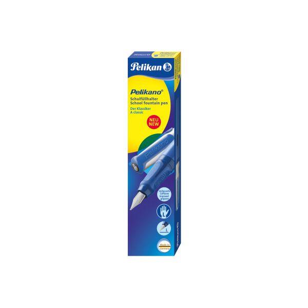 pelikan stylo plume pelikano p481 bleu pour gauchers. Black Bedroom Furniture Sets. Home Design Ideas