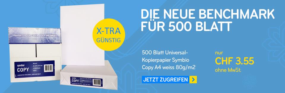 500 Blatt Kopierpapier