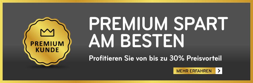 Premiumkunde werden - mehr erfahren!